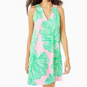 Lilly Ross Dress Fronds Mandevilla